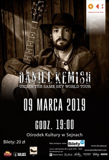 Daniel Kemish - under tke same sky world tour